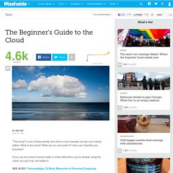 The Beginner's Guide to the Cloud