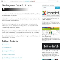 DOWNLOAD The Complete Beginners Guide To Joomla