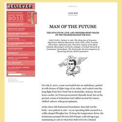 Man of the Future - Alex Mar