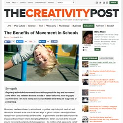 The Benefits of Movement in Schools