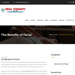 The Benefits of Facial