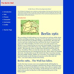 The Berlin Wall: Introduction