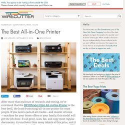 The Best All-in-One Printer