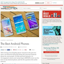 The Best Android Phone, Spring 2014