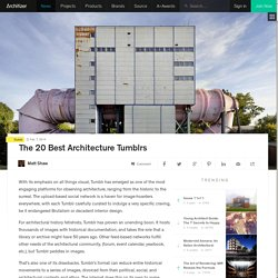 The 20 Best Architecture Tumblrs