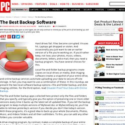 The Best Backup Software