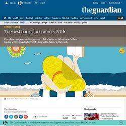 The best books for summer 2016