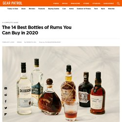The 14 Best Bottles of Rums You Can Buy in 2020