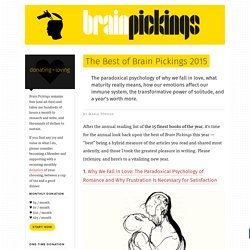 The Best of Brain Pickings 2015