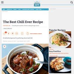 The Best Chili Ever Recipe