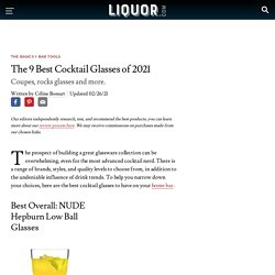 The 9 Best Cocktail Glasses of 2021