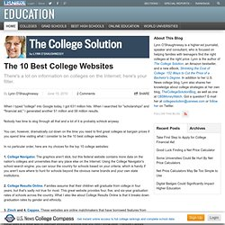 The 10 Best College Websites - The College Solution