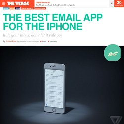 The best email app for the iPhone