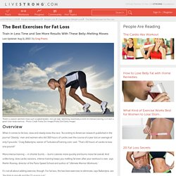 The Best Exercises for Fat Loss