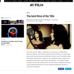 The best films of the '00s | Film | The A.V. Club - StumbleUpon