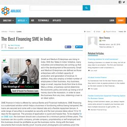 The Best Financing SME in India