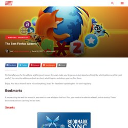 The Best Firefox Addons