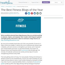 The Best Fitness Blogs of the Year