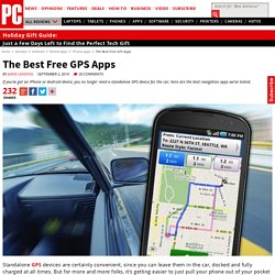 The Best Free GPS Apps