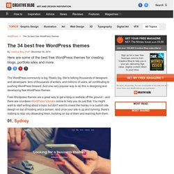 The 34 best free WordPress themes