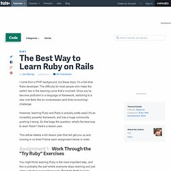 The Best Way to Learn Rails