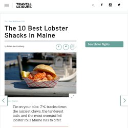 The Best Lobster Shacks in Maine