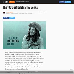 The 100 Best Bob Marley Songs