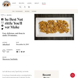 The Best Nut Brittle You'll Ever Make
