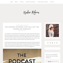 2015/03 [] The Best Podcast Episodes