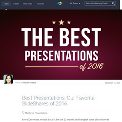 The Best Presentations of 2016