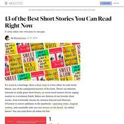 13 of the Best Short Stories Online