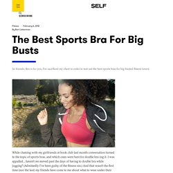 The Best Sports Bra For Big Busts