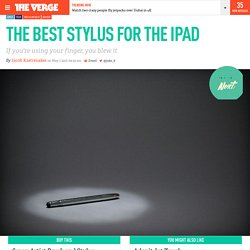 The best stylus for the iPad