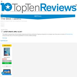 Tablet Reviews and more. - TopTenREVIEWS