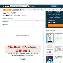 The Best of Teachers Web Tools