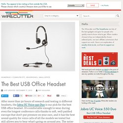 The Best USB Office Headset