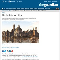 The best virtual cities