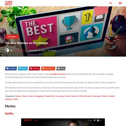 107 Best Websites On The Web