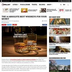 The Best Whiskeys For Your Money