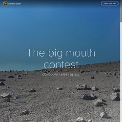 The big mouth contest