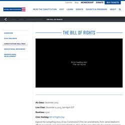 The Bill of Rights - activity and 15 min vid