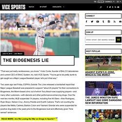 The Biogenesis Lie