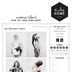 The Birthday Party | Studio Home