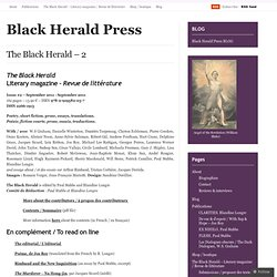 Black Herald Press