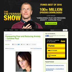 The Blog of Author Tim Ferriss