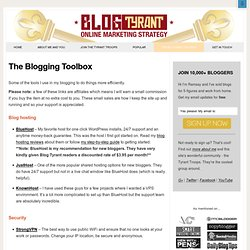 Blog Tyrant Toolbox