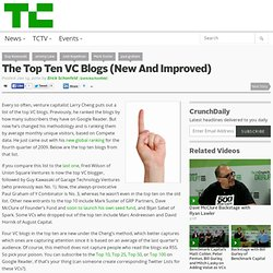 The Top Ten VC Blogs (New And Improved)