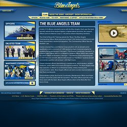 The Blue Angels Team