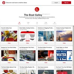 The Boat Galley on Pinterest