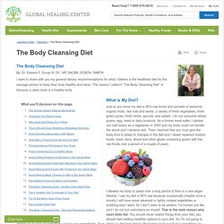 The Body Cleansing Diet